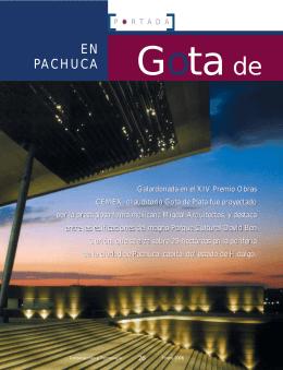 Gota de Plata - Instituto Mexicano del Cemento y del Concreto