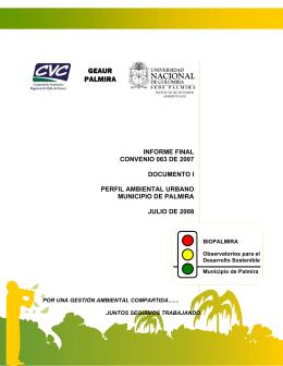 GEAUR PALMIRA - Universidad Nacional de Colombia::Sede Palmira