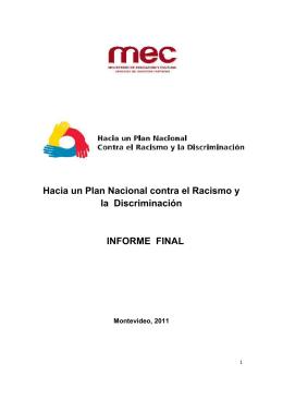 Informe_ Religión - Ministerio de Educación y Cultura