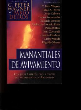 Pablo Deiros – Manantiales De Avivamiento