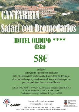 HOTEL OLIMPO ****