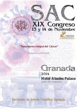 Hotel Abades Palace - Sociedad Andaluza de Cancerología