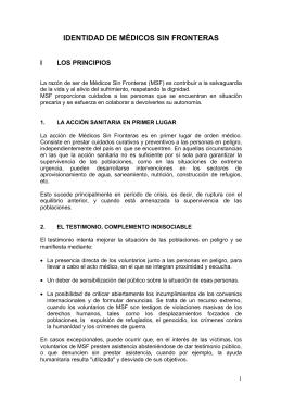 PDF - Identidad MSF - Médicos Sin Fronteras