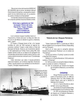 *Historia de los 2 Buques Petroleros: TUXPAN CHOAPAS