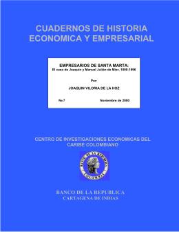 CUADERNOS DE HISTORIA ECONOMICA Y EMPRESARIAL