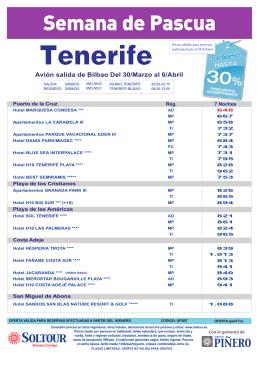Tenerife - Viajes