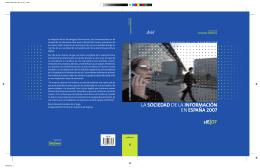 la sociedad de la información en españa 2007