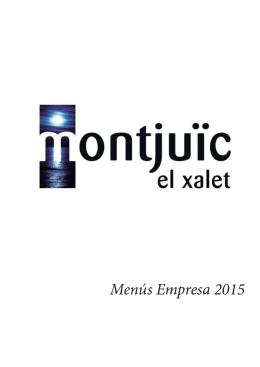 Menús Empresa 2015