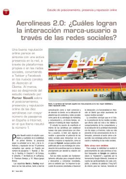 Aerolíneas 2.0: ¿Cuáles logran la interacción marca