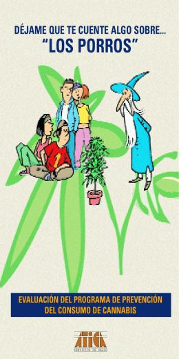 Evaluación del programa de prevención del consumo de Cannabis