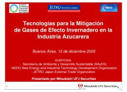 Tecnologías para la Industria Azucarera Archivo