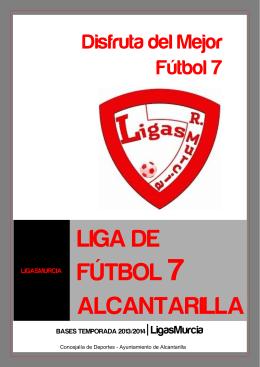 liga de fútbol 7 alcantarilla