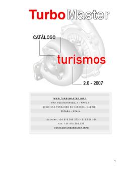 Catálogo de Turismos 2007