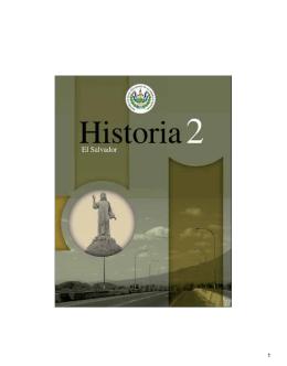 Historia de El Salvador. Tomo II