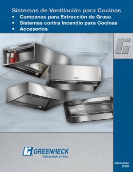 Sistemas de Ventilación para Cocinas