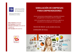 simulación de empresas para emprendedores