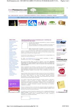 Página 1 de 2 DonFranquicia.com