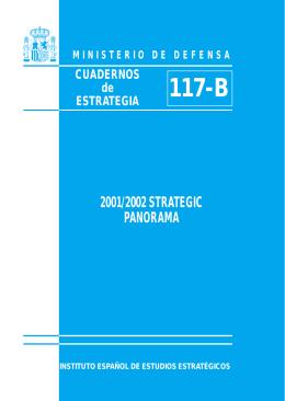 2001/2002 STRATEGIC PANORAMA - Instituto Español de Estudios