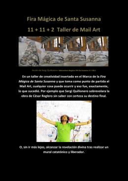 Fira Mágica de Santa Susanna 11 + 11 + 2 Taller de Mail