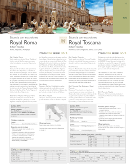 as Royal Roma Royal Toscana