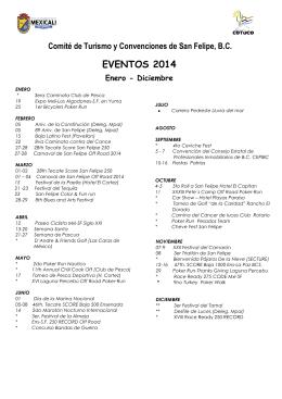 Comité de Turismo y Convenciones de San Felipe, B
