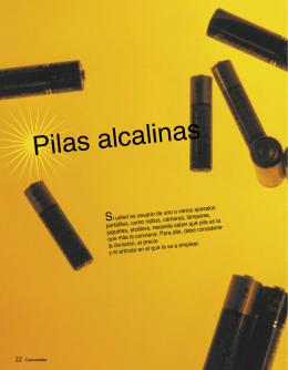 Pilas alcalinas