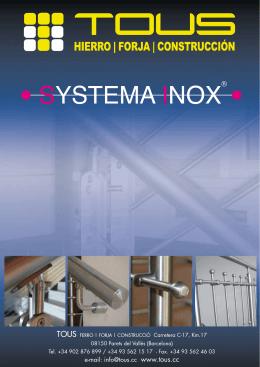 SYSTEMA INOX® - Interempresas