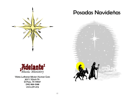 Posadas Navideñas - Ysleta Lutheran Mission