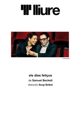 Dossier  - Teatre Lliure