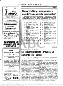 diario abc – los cuarenta principales 1984-05-06