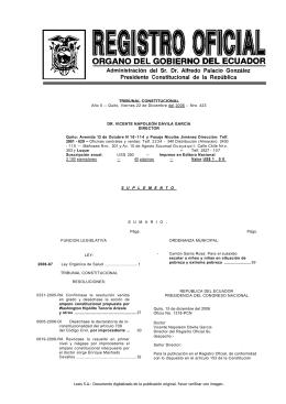 Ley Orgánica de Salud de Ecuador