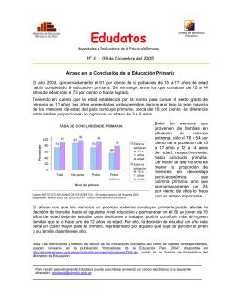 Nota técnica de la Unidad de Estadística Educativa