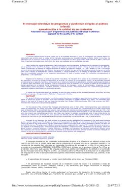 Página 1 de 5 Comunicar 25 25/07/2013 http://www