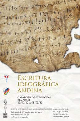 DESCARGAR catalogo Escritura Ideográfica