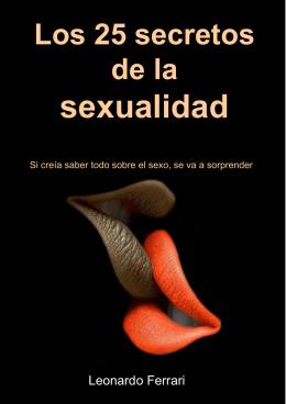 Los 25 Secretos de la Sexualidad.