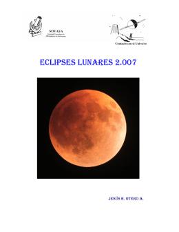 Eclipses Lunares de 2007 desde Venezuela