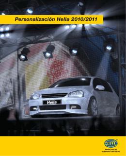 Personalización Hella 2010/2011