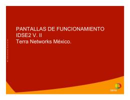 IDSE 2 V. II - Mi red empresarial