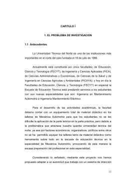 12 CAPITULO I 1. EL PROBLEMA DE INVESTIGACION 1.1