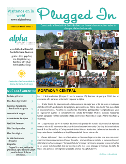 Visitanos en la web! - Alpha Resource Center