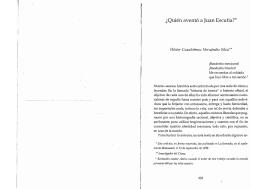 ¿Quién aventó a Juan Escutia?* - Coordinación de Actualización