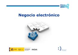 Negocio electrónico - Vendes en Internet