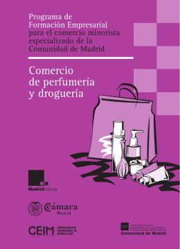 Comercio de perfumería y droguería