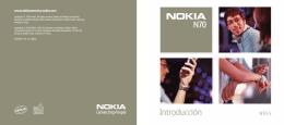 Nokia N70 Introducción