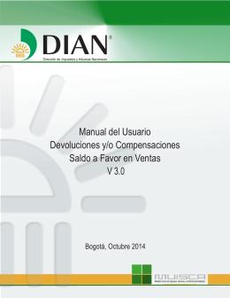 Devoluciones y/o Compensaciones -Saldo a Favor en Ventas