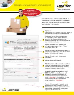 Descargar PDF. Como alertar tus compras
