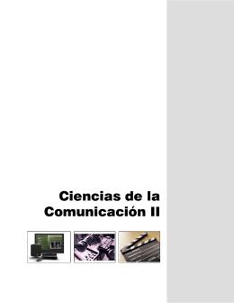 Ciencias de la Comunicación II - Colegio de Bachilleres del Estado