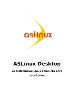 ASLinux Desktop - Activa Sistemas