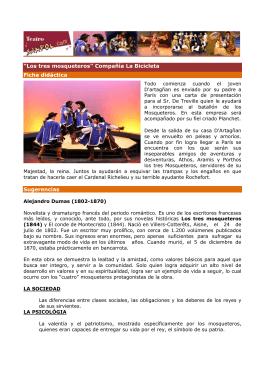 Ficha didáctica Los tres mosqueteros