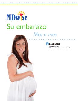 Cuadernillo Su embarazo mes por mes